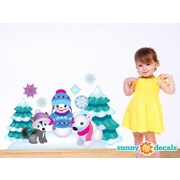 Sunny Decals Frozen Inspired Fabric Wall Decal