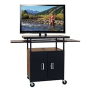 Buhl Flat Panel AV Cart w/ Locking Cabinet