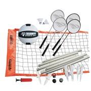 Triumph Sports USA Advanced Badminton/Volleyball Set