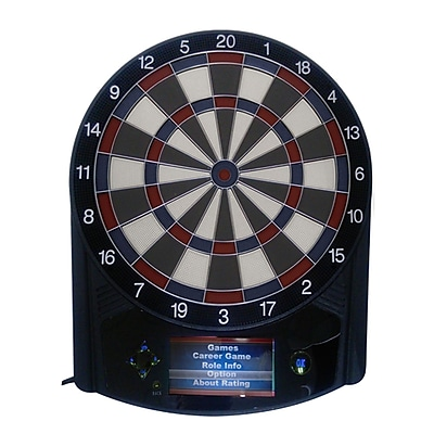 Triumph Sports USA Evolution Electronic Dartboard w/ Tru-Color Display WYF078277825645