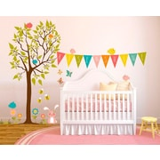 Oopsy Daisy Rise and Shine Tree by Finny and Zook Peel and Place Wall Decal
