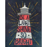 GreenBox Art 'Shine So Bright' by Stephanie Sliwinski Graphic Art on Canvas; 18'' H x 14'' W