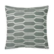 Westex Urban Loft Hexagon Throw Pillow; Teal