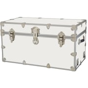Rhino Trunk and Case Medium Armor Trunk; White