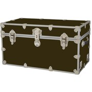 Rhino Trunk and Case Medium Armor Trunk; Brown