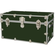 Rhino Trunk and Case Medium Armor Trunk; Forest Green