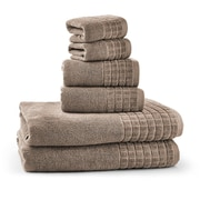 Bonita Maximo Multi Function Clothes Drying Stand with 6 Piece Terry Towel Set; Taupe