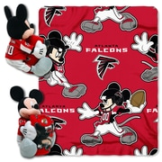Northwest Co. NFL Mickey Mouse Throw; Atlanta Falcons