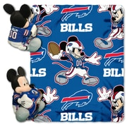 Northwest Co. NFL Mickey Mouse Throw; Buffalo Bills