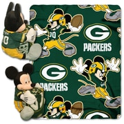 Northwest Co. NFL Mickey Mouse Throw; Green Bay Packers