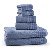 Bonita Maximo Multi Function Clothes Drying Stand with 6 Piece Terry Towel Set; Blue