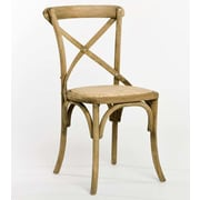 Zentique Inc. Parisienne Cafe Side Chair; Natural Oak