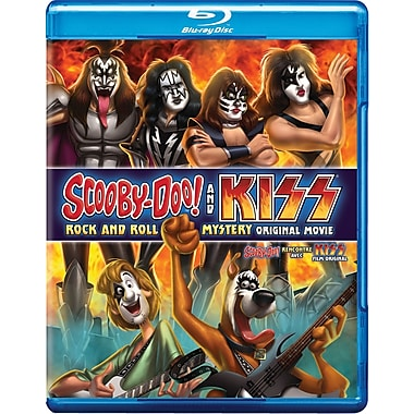 Scooby-Doo! & Kiss: Rock and Roll Mystery (Blu-ray/DVD)