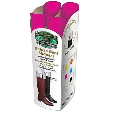 Moneysworth & Best 31459 Deluxe Boot Shaper, Pink, 6/Pack