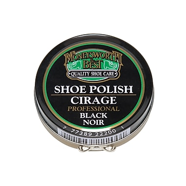 Moneysworth & Best 22200 Professional Paste Polish, Black, 6/Pack