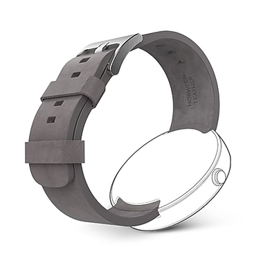 Motorola Leather Watch Band for Moto 360 Smart Watches, Grey