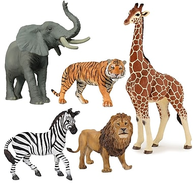 Papo Set of 5 Wild Animals Hand Painted Figurines