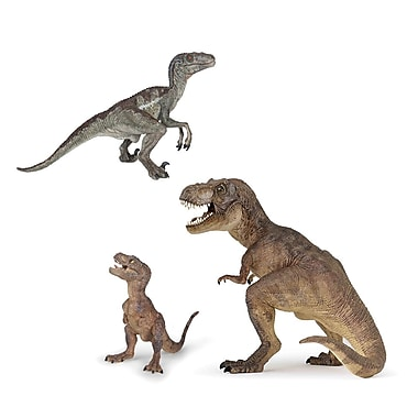 Papo Set of 3 Dinosaurs Hand Painted Figurines
