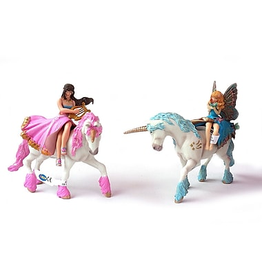 Papo Set of 4 Enchanted World Hand Painted Figurines 2