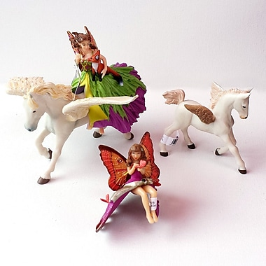 Papo Set of 4 Enchanted World Hand Painted Figurines 3