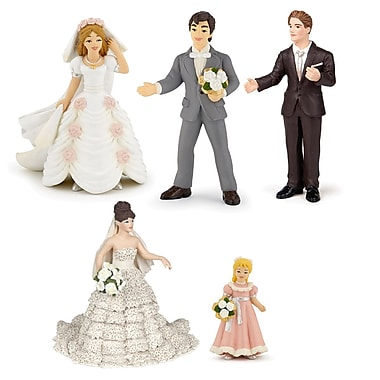 Papo Set of 5 Enchanted World Hand Painted Figurines 5