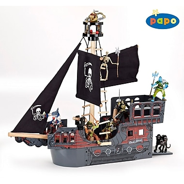 Papo Wooden Fantasy Pirate Ship