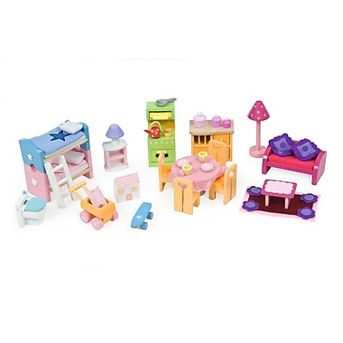 Le Toy Van Deluxe Furniture Set Great To Start Up Unfurnished House