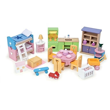 Le Toy Van Starter Furniture Set Great To Start Up Unfurnished House