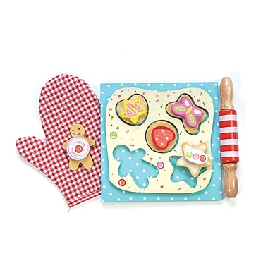 Le Toy Van Cookie Set with Interchangeable Velcro Toppings