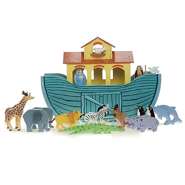 Le Toy Van The Great Ark with 10 Pairs of Wooden Animals