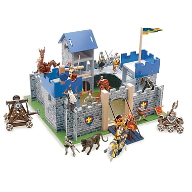 Le Toy Van Excalibur Medium Size Castle Blue