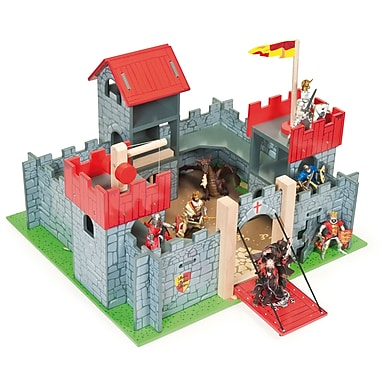 Le Toy Van Camelot Medium Size Castle Red