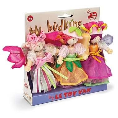 LE TOY VAN BUDKINS GARDEN FAIRIES GIFT PACK