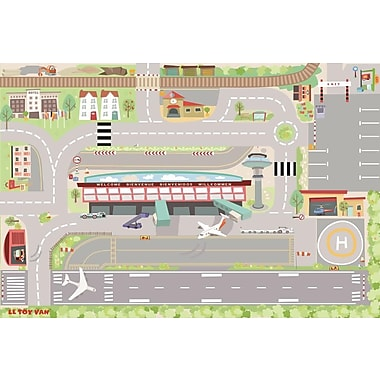 LE TOY VAN MY FIRST AIRPORT PLAYMAT 80 X 120 CM