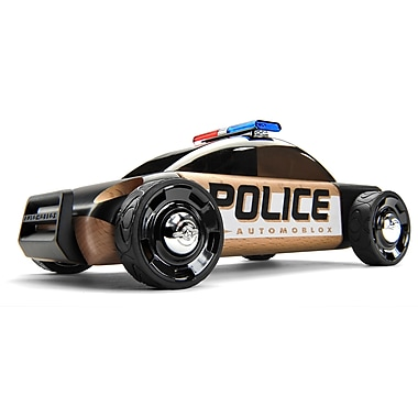 Automoblox S9 Police car wooden vehicle