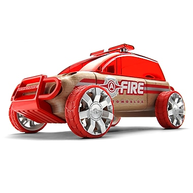 Automoblox X9 Fire Utility vehicule wooden vehicle