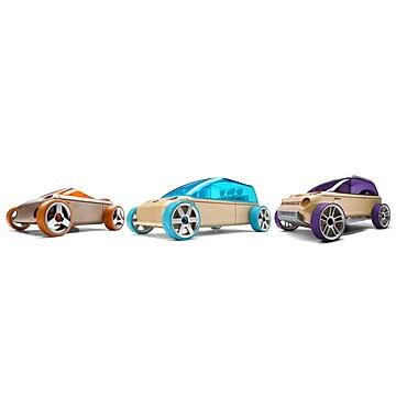 Automoblox A9/M9/X9-X Three Pack Mini wooden vehicles