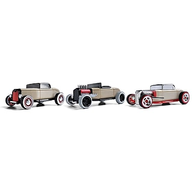 Automoblox Three Pack Mini Hot Rods wooden vehicles
