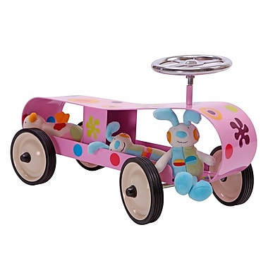 Baghera 889 Streamline Pink Ride-On