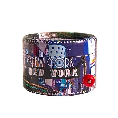 PML BPM160 New York New York Hand Crank Musical Box