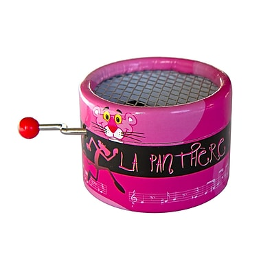 PML BPM113 Panthere rose // Pink Panther Hand Crank Musical Box