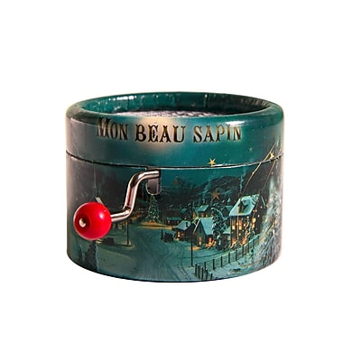 PML BPM155 Oh Christmas Tree Hand Crank Musical Box