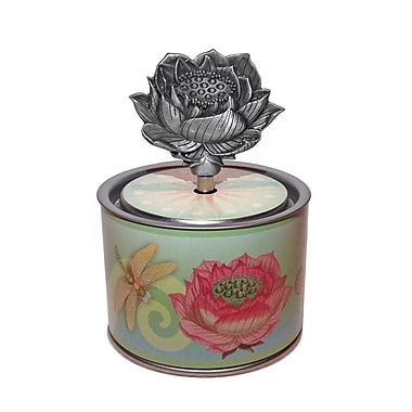 PML SOC210 Socle Casting Wind-up Musical Box, Flower Key, Vivaldi's spring