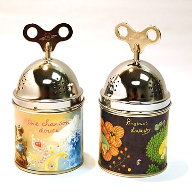 PML Gift Set of Two Wind Up Baby Songs Musical Boxes