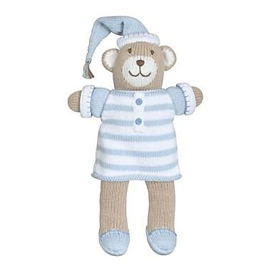 Zubels BEAR12-BL Bear in Pajamas Blue 12