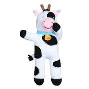 "Zubels COW12 Cow Cowleen 12"" Hand Knitted Doll"
