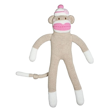 Zubels JPL18-PK Sock Monkey -18