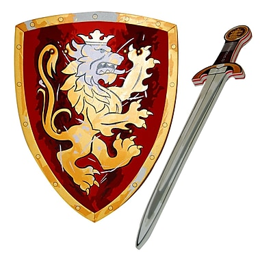 LionTouch Noble Knight Sword and Shield Red