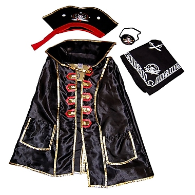 LionTouch Captain Cross Cape, Hat, Bandanna and Eye Patch
