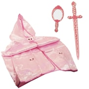 LionTouch Princess Rose Mary Sword, Mirror and Cape, Pink